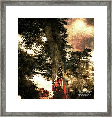 Independence Day Appalachia  Framed Print