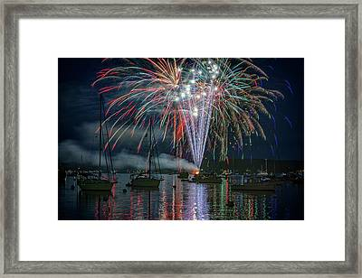 Framed Print featuring the photograph Independence Day In Maine by Rick Berk