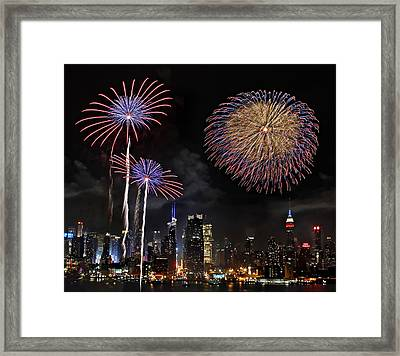 Framed Print featuring the photograph Independence Day by Roman Kurywczak