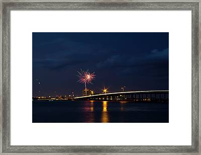 Independence On The River Framed Print by Nicholas Evans
