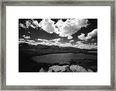 Independence Pass Colorado Framed Print by Susan Chandler