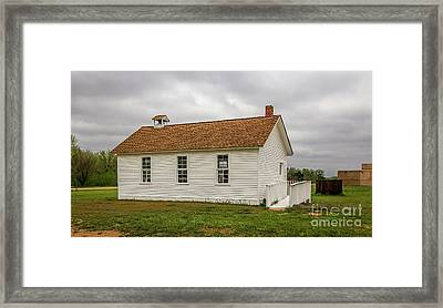 Independence School Framed Print by Jon Burch Photography