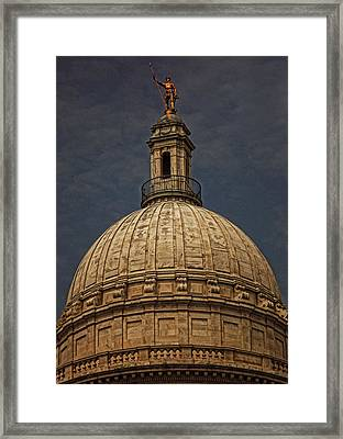 Independent Man II Framed Print by Lourry Legarde