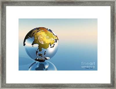 India, Asia, Japan Framed Print by Corey Ford