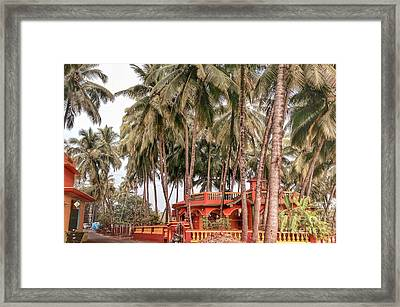 India House Framed Print