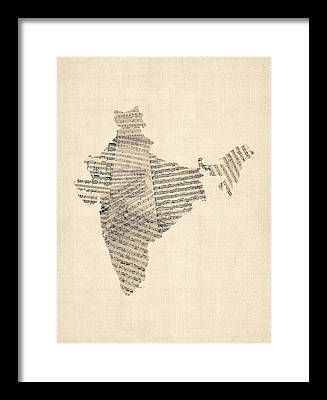 India Framed Prints