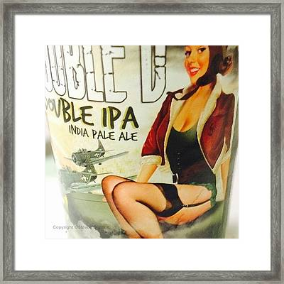 India Pale Ale   Framed Print
