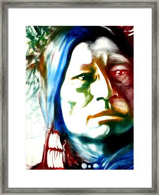 Indian 1 Framed Print by Scott Robinson
