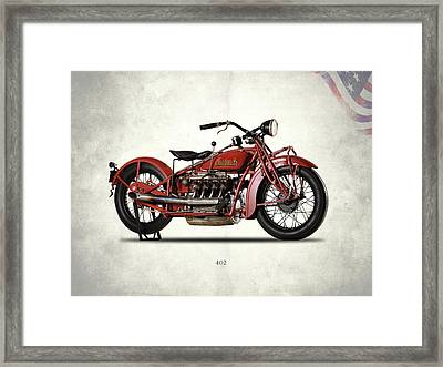 Indian 402 1931 Framed Print by Mark Rogan
