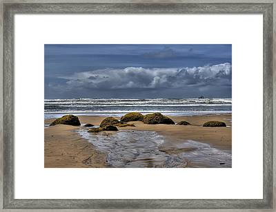 Indian Beach Framed Print