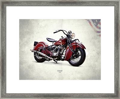 Indian Chief 1941 Framed Print