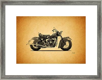Indian Chief 1951 Framed Print by Mark Rogan