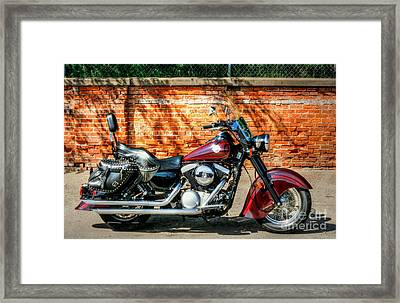 Indian Chief Drifter Framed Print by Lowell Stevens