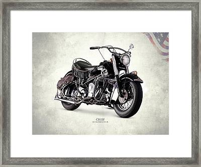 Indian Chief Roadmaster 1953 Framed Print by Mark Rogan