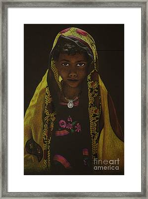 Indian Child Framed Print