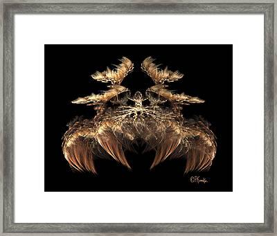 Indian Feather Headdress 5 Framed Print