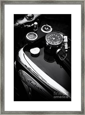 Indian Four Abstract Framed Print by Tim Gainey