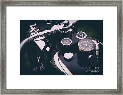 Indian Four Framed Print by Tim Gainey