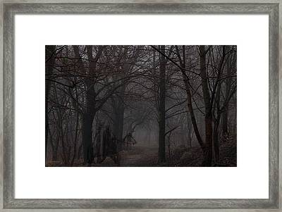 Indian Ground Framed Print by Evelyn Patrick