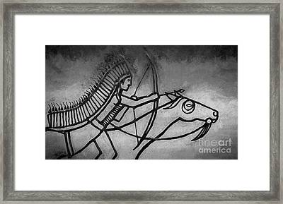 Indian Memorial Framed Print by Sharon Seaward