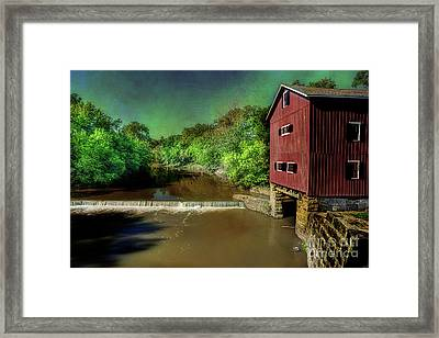 Indian Mill Framed Print by Michael Eingle