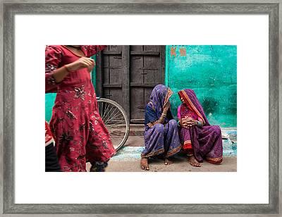 Indian Mood Framed Print