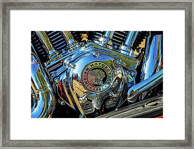 Indian Motor Framed Print by Keith Hawley