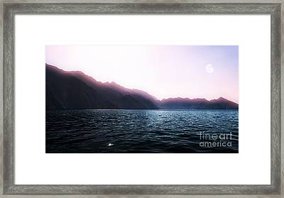 Indian Ocean Shore, Oman Framed Print by Mikhail Golovastikov