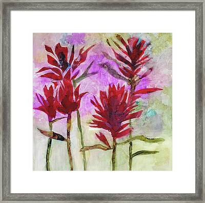 Indian Paintbrush Framed Print by Julie Maas