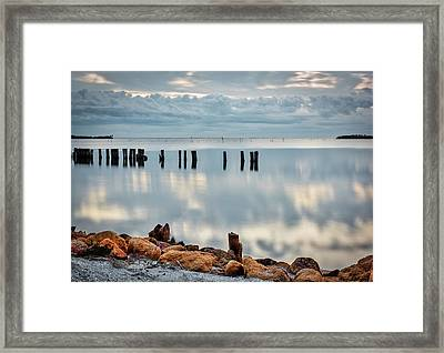 Indian River Morning Framed Print