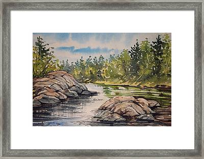 Indian River Ny 1 Framed Print