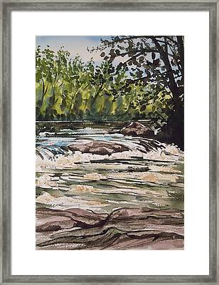 Indian River Ny 2 Framed Print