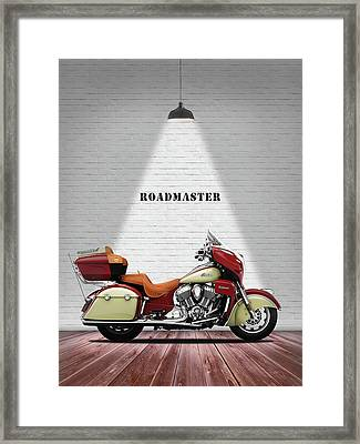 Indian Roadmaster Framed Print by Mark Rogan