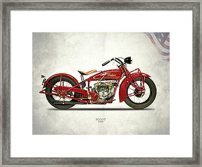Indian Scout 101 1929 Framed Print