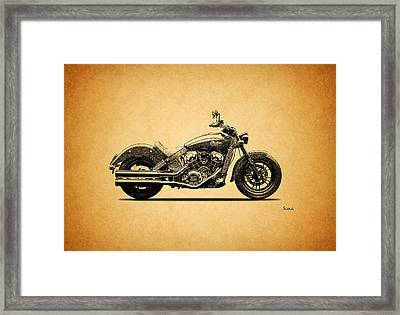 Indian Scout 2015 Framed Print
