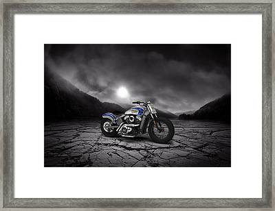 Indian Scout 2015 Mountains Framed Print by Aged Pixel