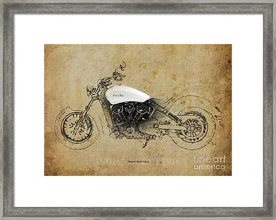 Indian Scout 2016 Framed Print by Pablo Franchi