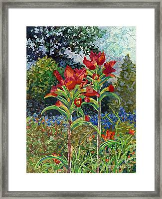 Indian Spring Framed Print by Hailey E Herrera