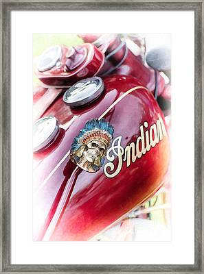 Indian Suicide Shifter  Framed Print by Tim Gainey