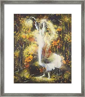 Indian Summer Framed Print by Andrej Vystropov