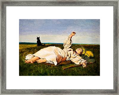 Indian Summer Framed Print