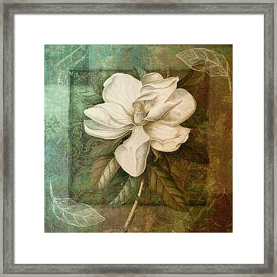 Indian Summer II Framed Print by Mindy Sommers