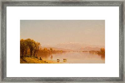 Indian Summer In The White Mountains Framed Print