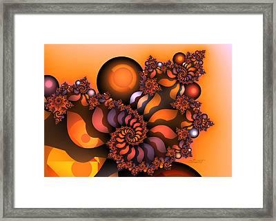 Indian Summer Framed Print by Jutta Maria Pusl