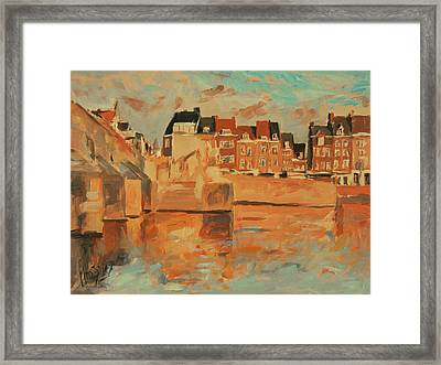 Indian Summer Light Maastricht Framed Print