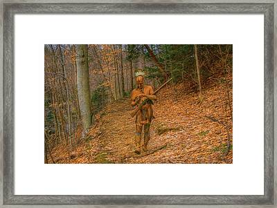 Indian Summer  Framed Print by Randy Steele