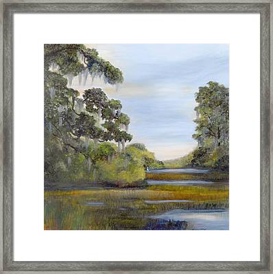 Indian Summer Framed Print by Shirley Lawing