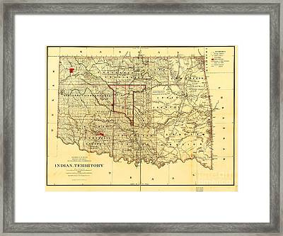 Indian Territory Framed Print