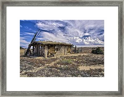 Indian Trading Post Montrose Colorado Framed Print
