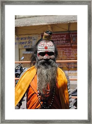 Indian Vagabond Framed Print by Sumit Mehndiratta